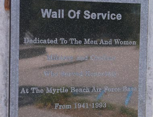 Wall of Service at Warbird Park